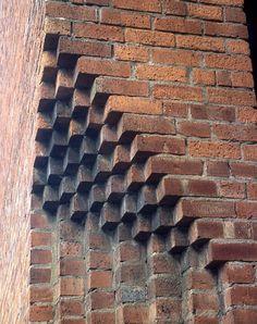 brick lace parapet - Google Search
