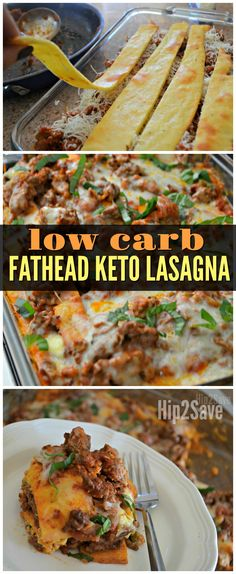"delicious recipe replaces traditional lasagna noodles with Keto friendly ""Fathead"" dough as a genius low carb idea!This delicious recipe replaces traditional lasagna noodles with Keto friendly ""Fathead"" dough as a genius low carb idea! Ketogenic Recipes, Low Carb Recipes, Diet Recipes, Cooking Recipes, Healthy Recipes, Vegetarian Cooking, Fat Head Recipes, Flour Recipes, Fudge Recipes"