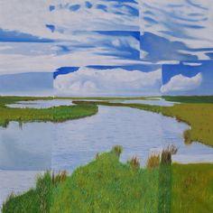 """""""Borkum inland"""" by Hans-Gerhard Meyer #art"""