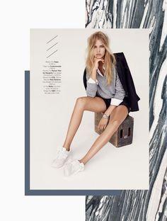 Ideas for fashion editorial design layout color palettes Editorial Design Layouts, Layout Design, E-mail Design, Cover Design, Creative Design, Logo Design, Design Ideas, Mise En Page Magazine, New Balance