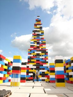 A temporary pavilion in the public space for the Grenswerk Festival in Enschede, Netherlands,