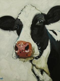 Roz knows her cows, chickens and more. Find her work at drunkencows.com
