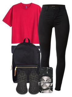 """""""8:31:15"""" by codeineweeknds ❤ liked on Polyvore featuring Herschel Supply Co. and J Brand"""