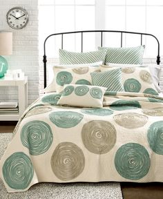 Nostalgia Home Bedding, Madisson Quilts - Apartment Bedding - Bed & Bath - Macy's