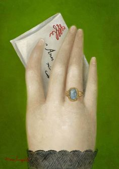 Hand with Billet Doux | Fatima Ronquillo