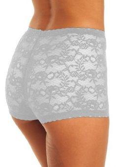 Roamans Plus Size Allover Lace Boyshort Comfort Choice (White,11) Roamans. $8.89. Save 58%!
