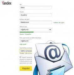 Yandex email adresi almak için nasıl bir yardım gerekiyorsa. İhtiyacınız olan tüm bilgiler burada