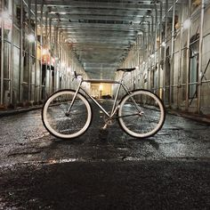 Even busy city streets can sometimes have quiet moments. Photo by Tim Kau. #smartvilleSweepstakes #Urban #Mobility #Style #Cycling