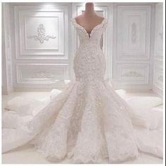 Vestido De Noiva Mermaid Wedding Dresses Chapel Train Wedding Gowns Sexy Sweetheart Lace Wedding Dress 2017 Robe De Mariage