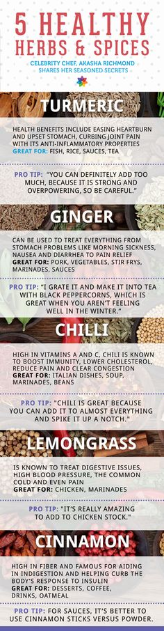 How to add spices to eat healthier.