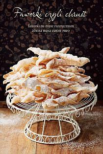 Wrescie odnalazlam wiele to jest jedna szklanka! Pasta Recipes, Dessert Recipes, Cooking Recipes, Chrusciki Recipe, Polish Recipes, Polish Food, Mellow Yellow, Holiday Desserts, Cake Cookies