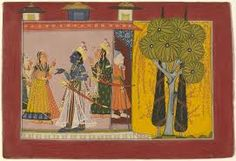 Rama Tells Kausalya That He Has Been Exiled to the Forest