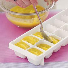 Phương pháp đông lạnh đồ ăn dặm giúp mẹ nhàn hơn
