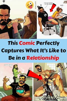 Comic Wonderfully Captures What It's Like to Be in a Relationship Do You Like It, What Is Like, Catana Comics, Bizarre Photos, Funny Jokes, Hilarious, How To Make Comics, Awkward Moments, Weird World