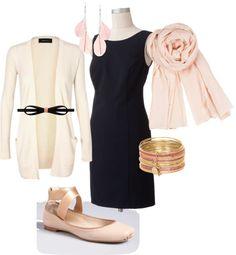 """ballerina black sheath"" by arstylists on Polyvore"