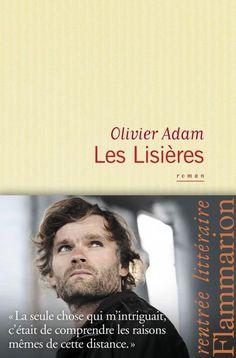 """via Twitter : Céline @septentria """"Les lisières"""" d'Olivier Adam sur mon Cybook en ce #FridayReads !"""