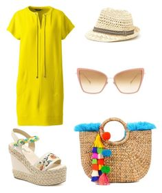 """Senza titolo #250"" by bagordocinzia on Polyvore featuring moda, Lands' End e Dita"