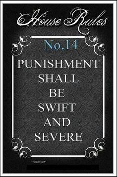 BDSM House Rules No 14