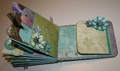 Pretty album made by Laura Denison from Follow the Paper Trail on You Tube. following the paper trail, follow the paper trail, minialbum
