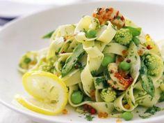 Tagliatelle met scampi's en groenten (Libelle Lekker!)