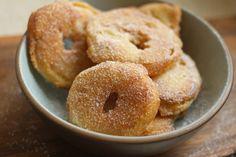 GF Apple fritters (low sugar)