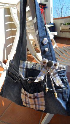 handmade,bags, hobby fai da te,jeans