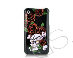 Tattoo-Hardy iPhone 3G/3GS Case - Rose Skull Beaming  #iphone http://j.mp/KQs9mJ
