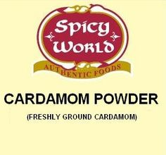 Cardamom Powder/Ground - Shop