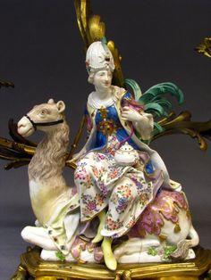 """Asia""  Johann Friedrich Eberlein (1695–1749)  Meissen Manufactory ca. 1745–55"