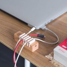 Fancy - Wooden Desktop Cable Management