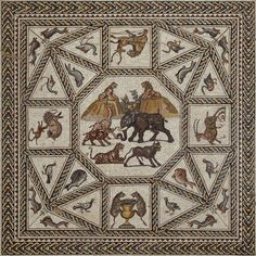The Roman Mosaic from Lod, Israel Christopher S. Lightfoot, Curator, Department of Greek and Roman Art
