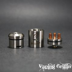 The Stillare v2i Dripper by Cartel Mods. Copper plated posts and screws!  www.VapingGriffin.com