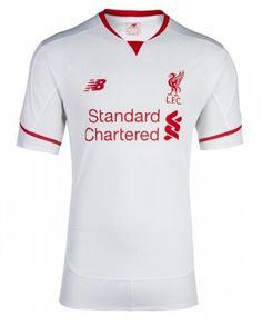 95809350e2 Liverpool Jersey 2015 16 Away Soccer Shirt Camisas De Futebol