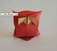 owl origami instructions