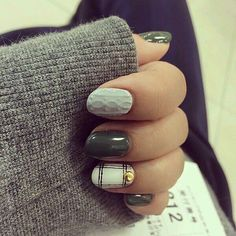 Gelish grey sweater