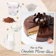 Mirror Chocolate Glaze Recipe