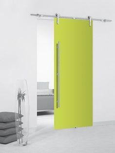 M s de 1000 ideas sobre puertas corredizas en pinterest - Puertas correderas empotradas en tabique ...