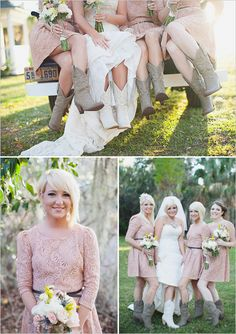 rose bridesmaid dresses from Forever 21