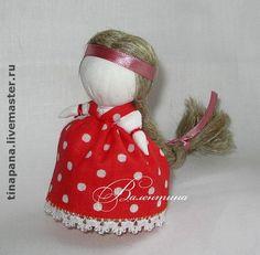 """Обереги, талисманы, амулеты ручной работы. Ярмарка Мастеров - ручная работа """"Куколка на счастье"""". Handmade."""