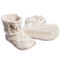 Roberto Cavalli Baby Girls Pre-Walker Boots at Childrensalon.com