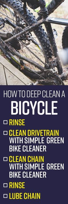 Regular bike cleaning and washing does more than keep your bicycle looking good – it prevents accelerated damage or corrosion from dirt and grease build-up t Deep Cleaning, Cleaning Hacks, Bbq Grill Cleaner, Spring Cleaning List, Diy Craft Projects, Crafts, Clean Grill, Summer Diy, Grease