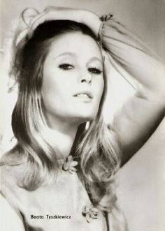 Beata Tyszkiewicz, a Polish actress (born Polish People, See Movie, Keith Richards, Movie Stars, Poland, Actors & Actresses, Famous People, Pin Up, Singer