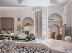 Playroom Design, Kids Room Design, Daycare Design, Kids Bedroom Designs, Room Interior, Home Interior Design, Dream Home Design, House Design, Creative Kids Rooms
