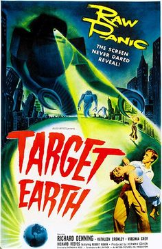 Target Earth - 1954 - Movie Poster