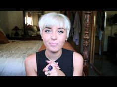 ▶ All About My Hair! White/Silver Hair Maintenance, Pixie Cuts, + Styling! - YouTube