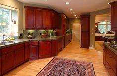 Love this! #Granite #Tile #Backsplash #Kitchen