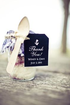 nautical wedding favors (photo by: Kaylee Eylander Photography)
