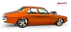 In the mid-nineties, Sam Caruana's 1975 Holden HJ Premier was Summernats Top 20 material. Holden Muscle Cars, Aussie Muscle Cars, Holden Premier, Hq Holden, Holden Torana, Holden Australia, Cool Car Drawings, Australian Cars, Car Goals