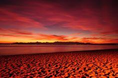 dusk, Puget  Sound, Seattle Washington