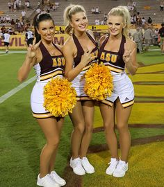 Asu cheerleaders gone nude